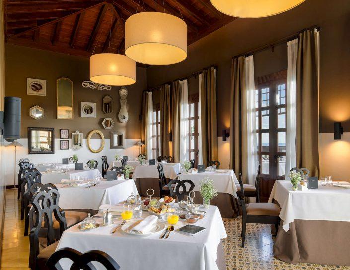Melia Hacienda del Conde-Golf Buena vista-Restaurante-Salazar-Montaje-desayuno-Level