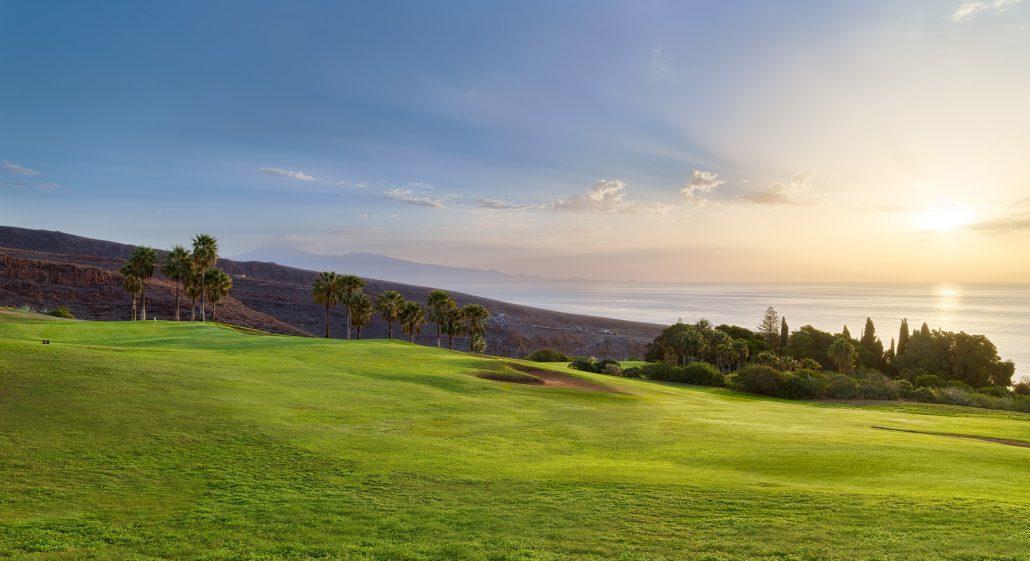 Tecina golf course-Hoyo-3-al-amanecer
