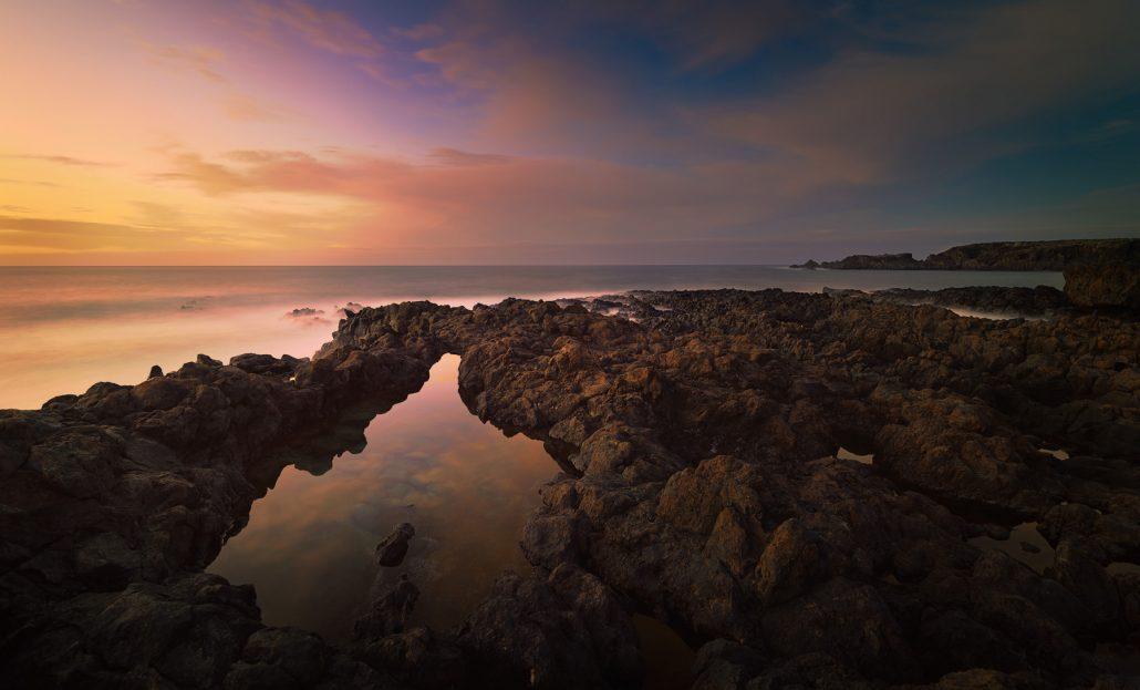 Landscape photo. Costa El Sauzal, Tenerife