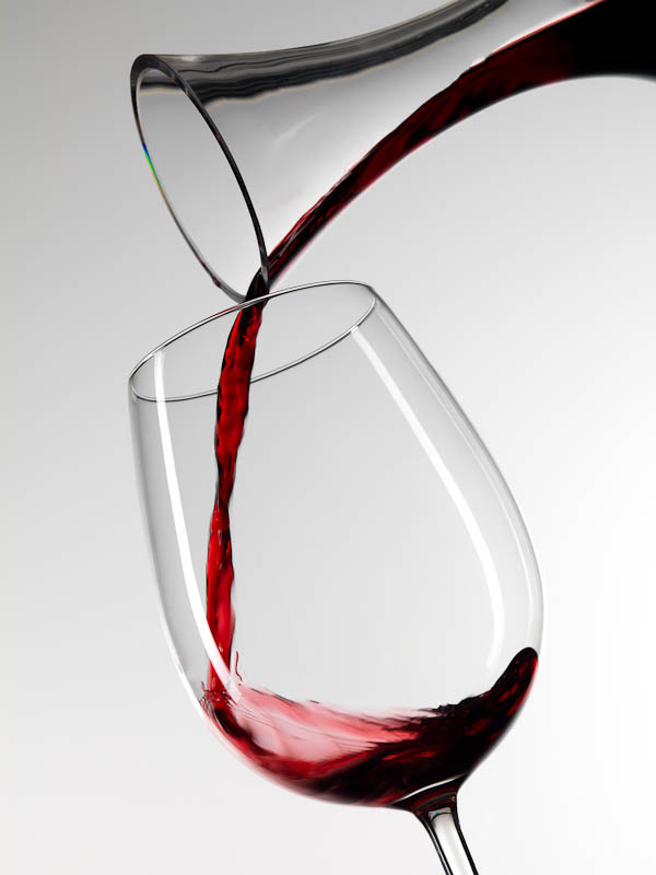 Product photo. Wine Decanter