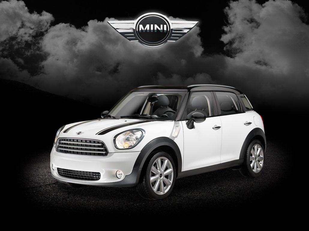 Producto photograph. Mini Cooper Country