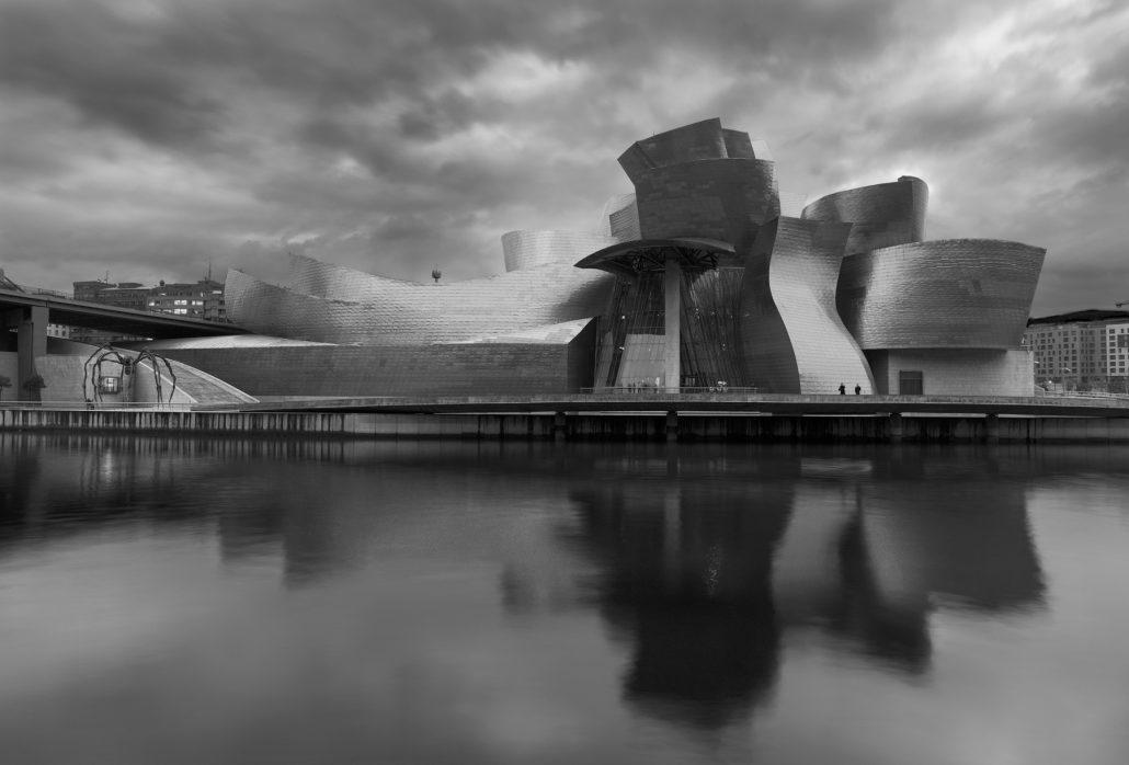 Photograph. Guggenheim museum, Bilbao