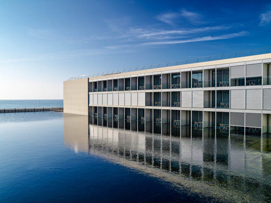 Le Meridien Ra Tarragona-lago y terraza