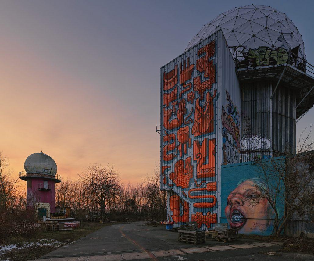 Urabn photo. Teufelsberg. Berlín