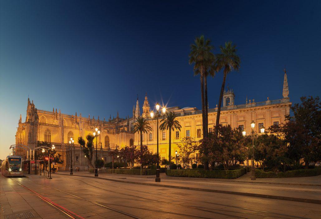 La Giralda y Archivo general de Indias, Sevilla