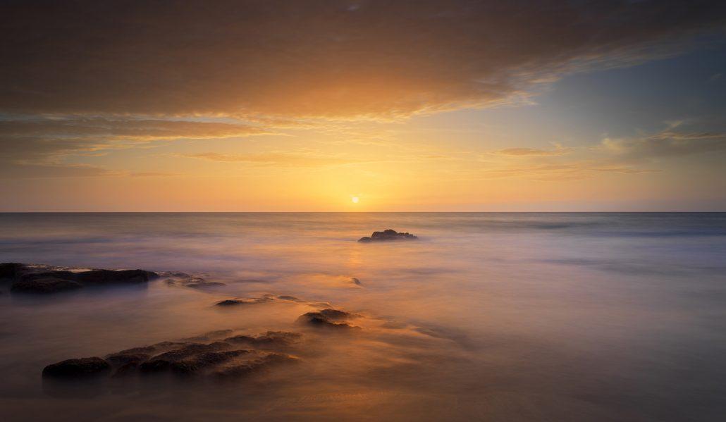 El Cotillo at sunset photograph