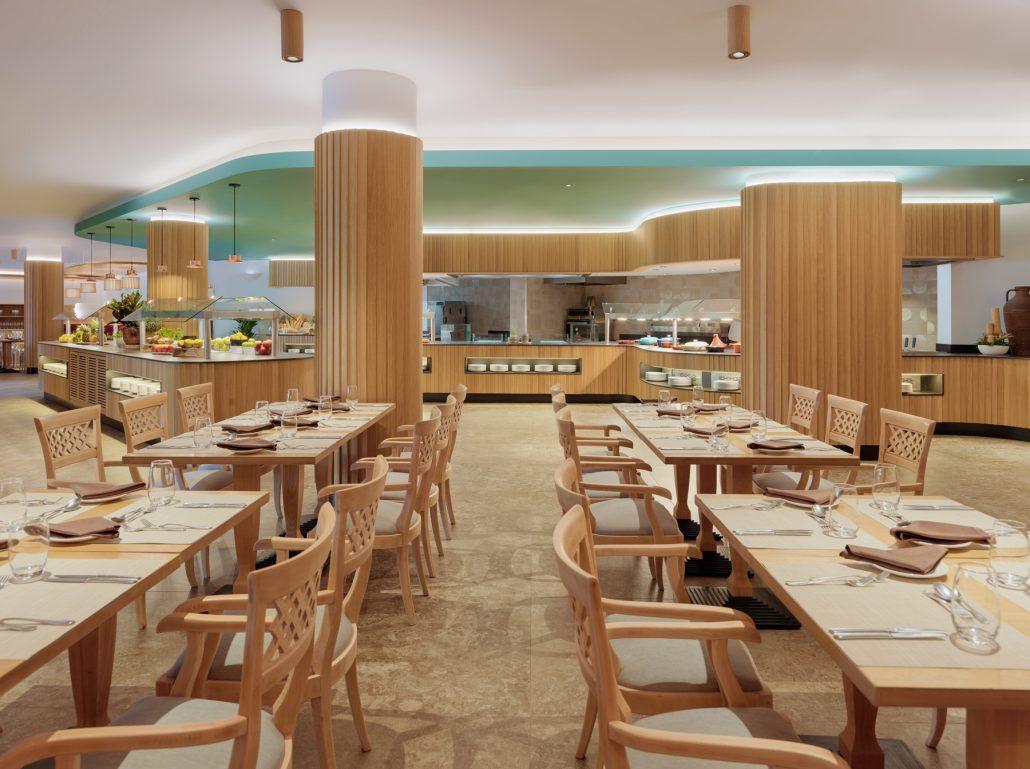 El Parador restaurant. Sheraton La Caleta
