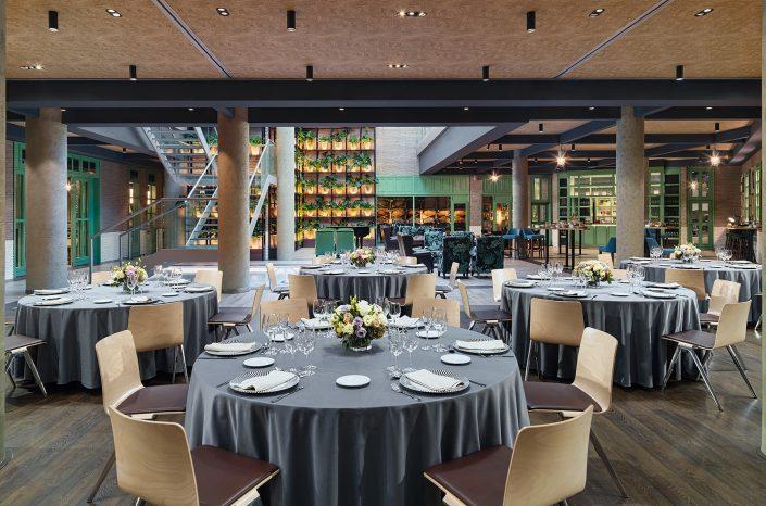 Banquet set up Marina Dionissos