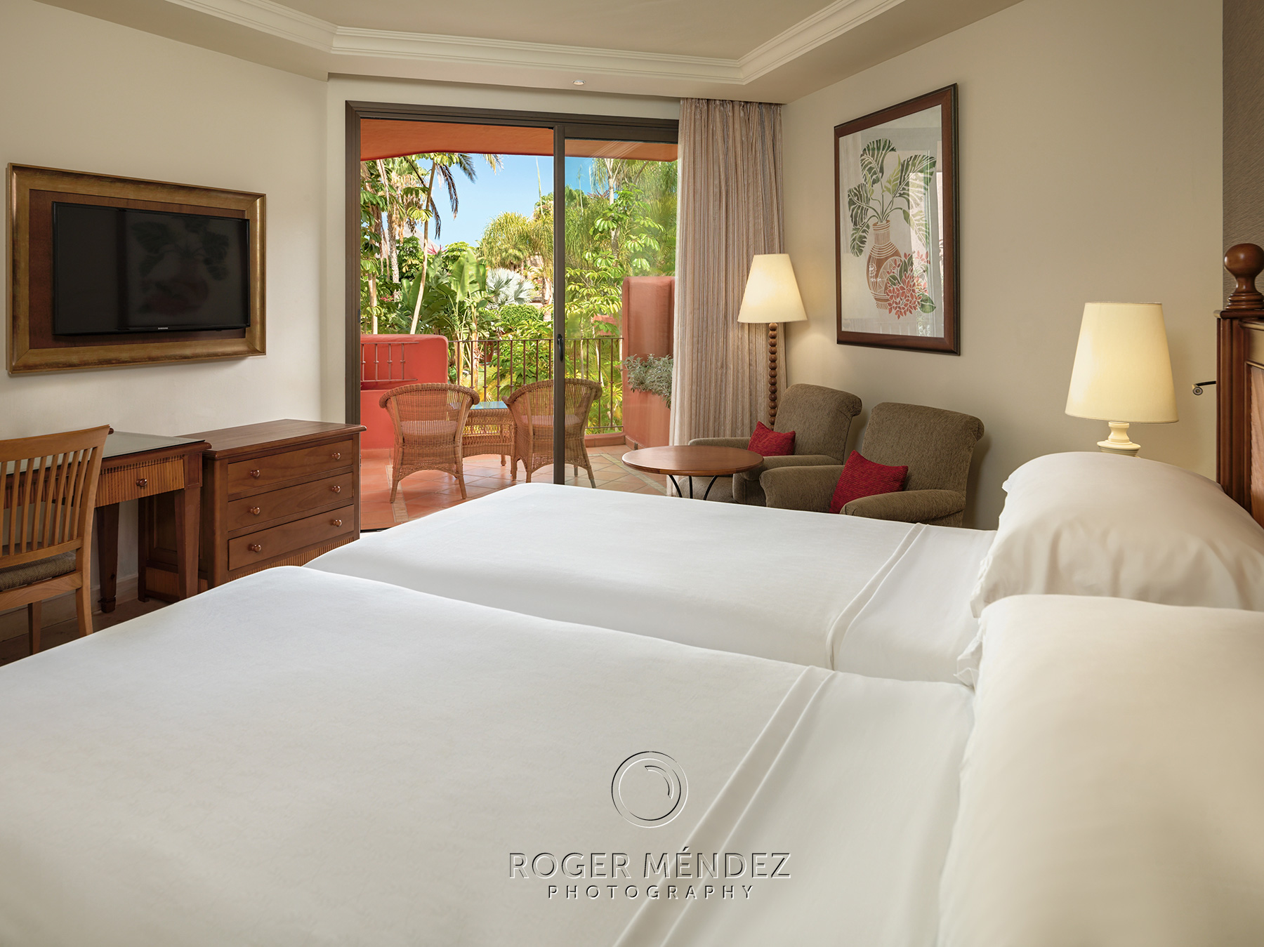Deluxe room. Garden view. Sheraton la Caleta photo