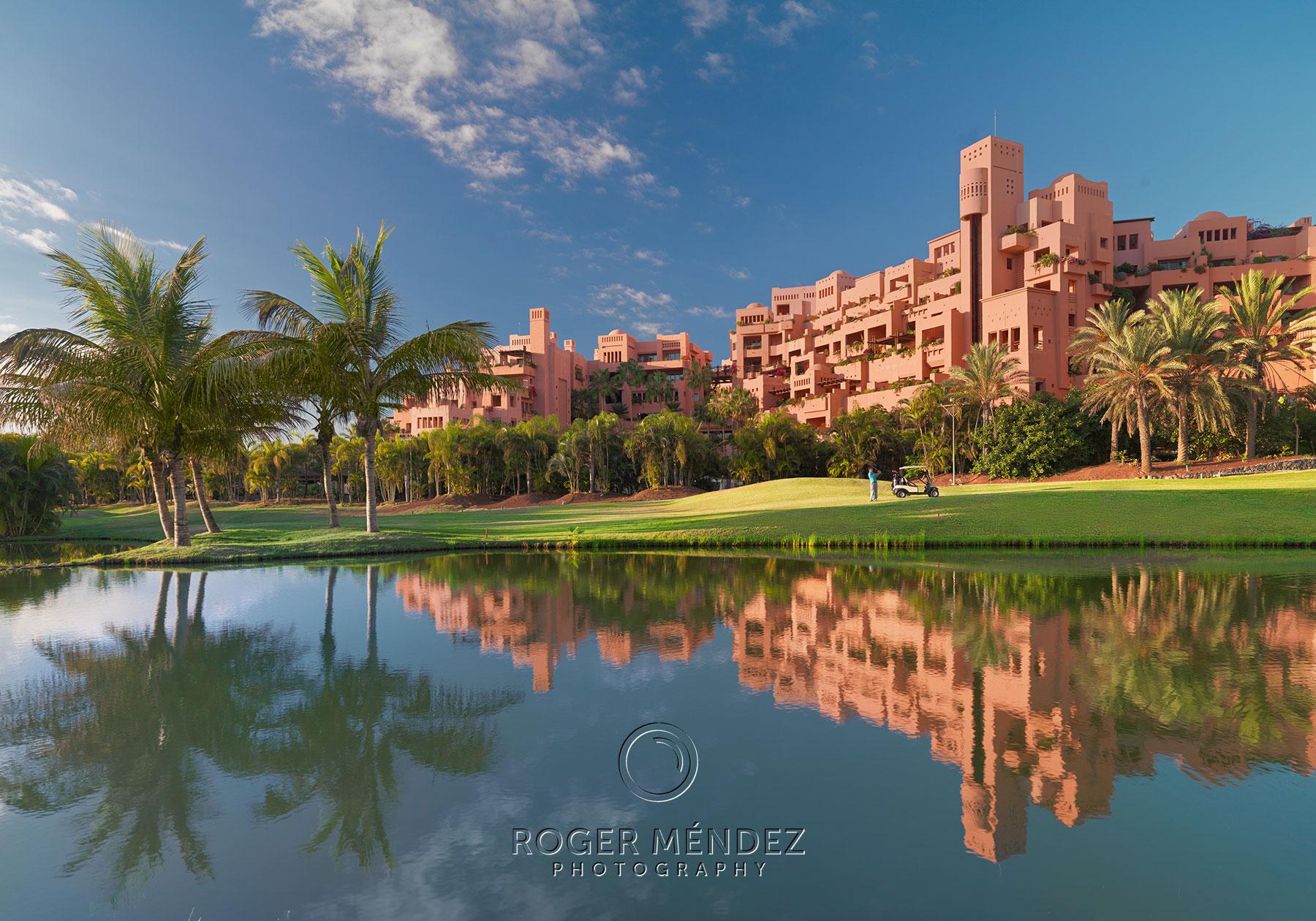 Golf course Abama photographs