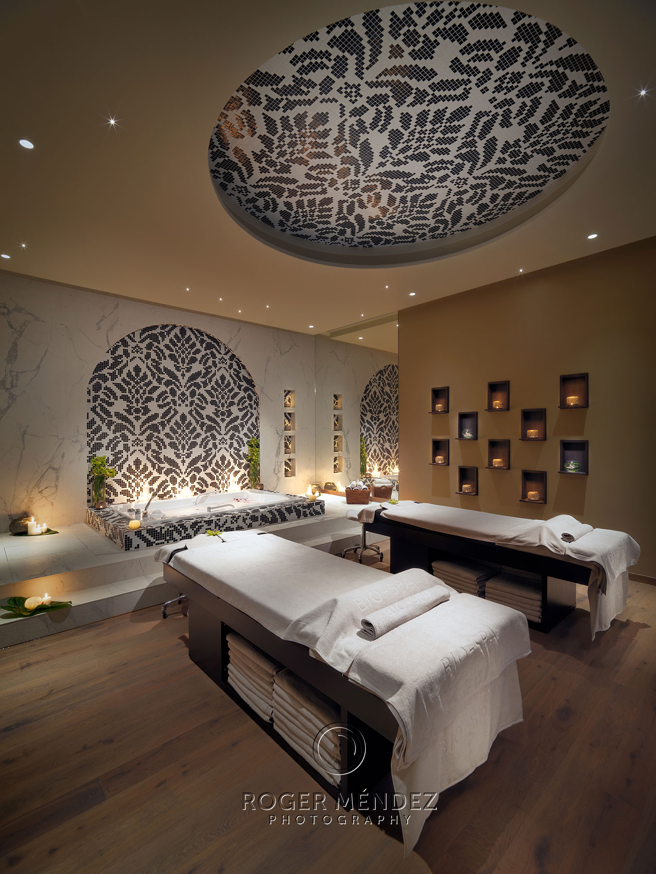 GF Victoria. Spa Treatment room photograph