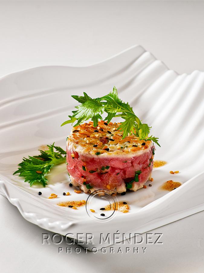 Tuna fish hamburger