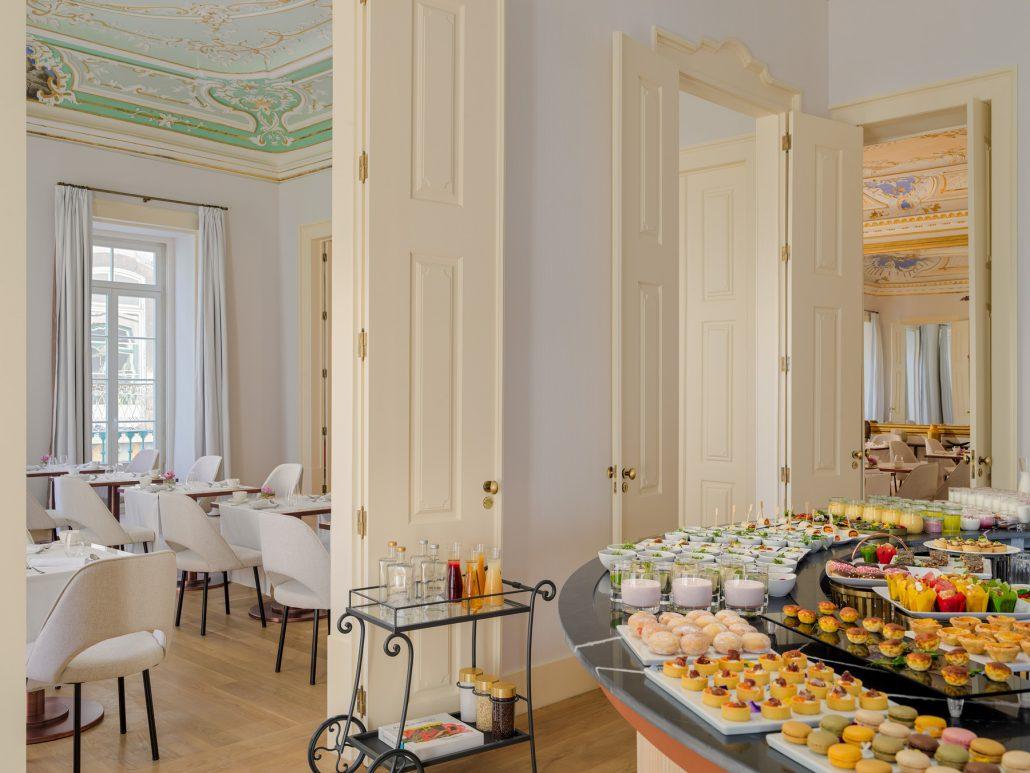 Fotografía buffet desayuno The One Palacio da Anunciada
