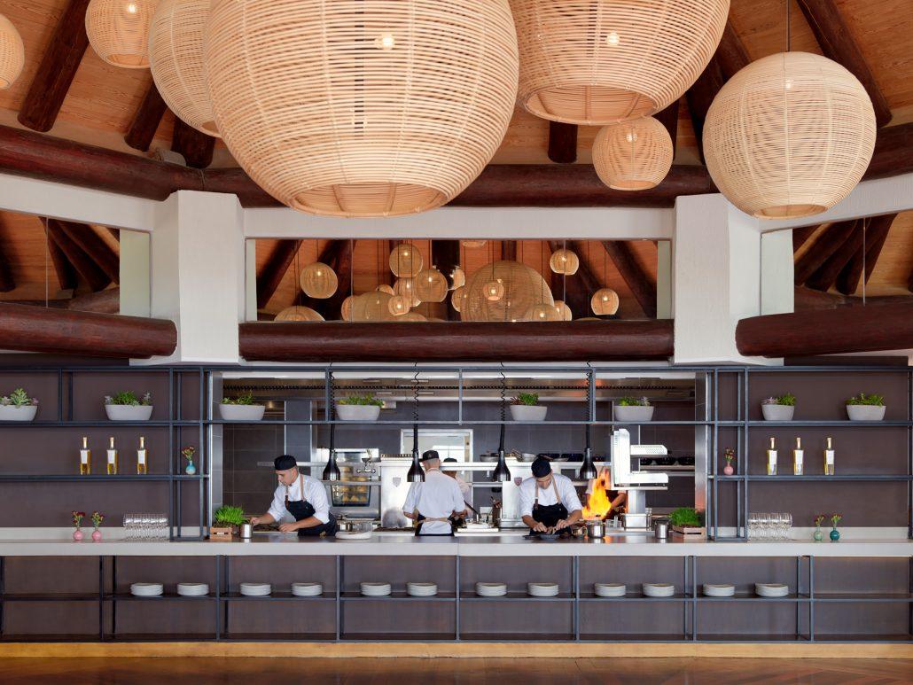 Fotografía de showcooking en restaurante El Mirador para el hotel Ritz Carlton Abama