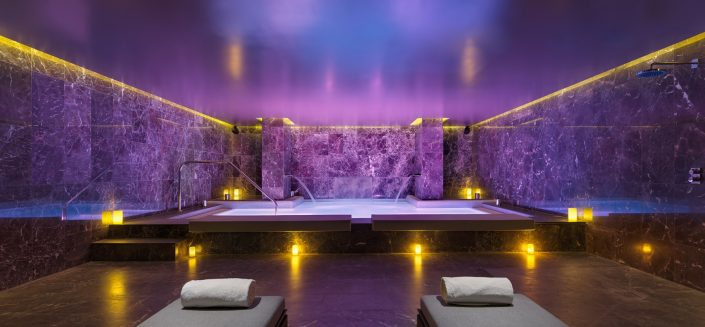 Zona de aguas Spa The One Barcelona