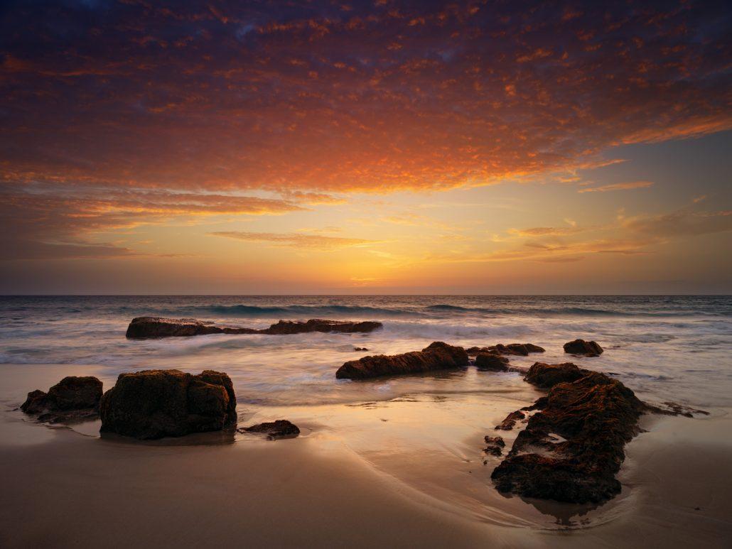 El Cotillo, puesta de sol