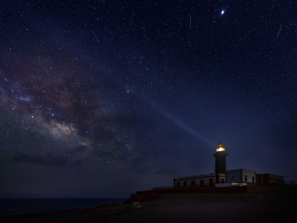 Fotografía paisaje. Faro de Jandía