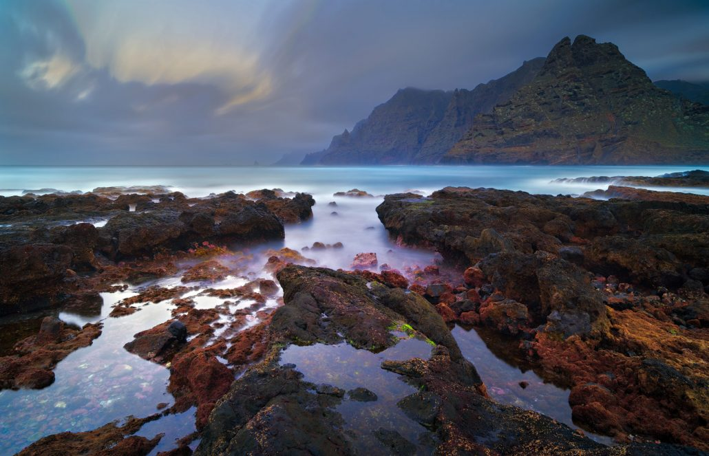 Fotografía paisaje Punta de Hidalgo, Tenerife