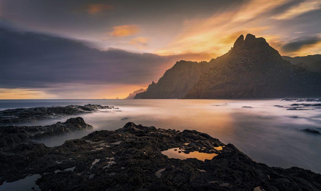 fotografía paisaje. Punta del Hidalgo, Tenerife