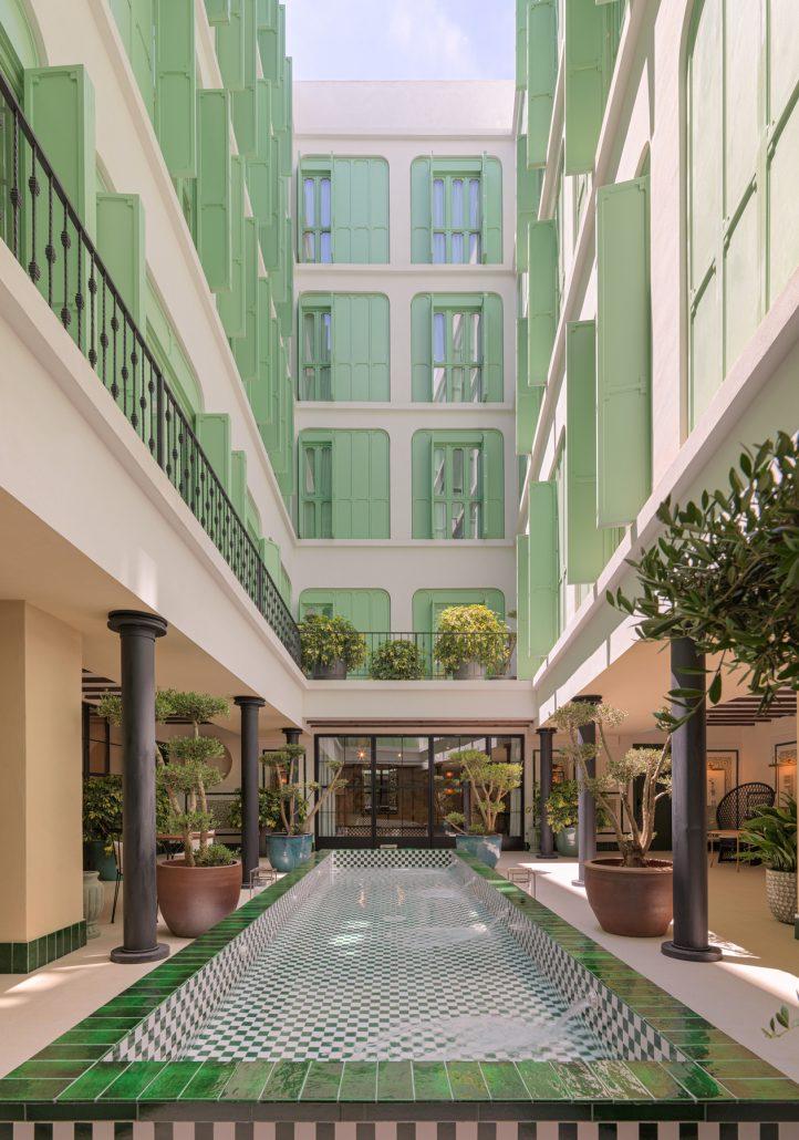Fotografía detalle Atrium H10 Casa de la Plata