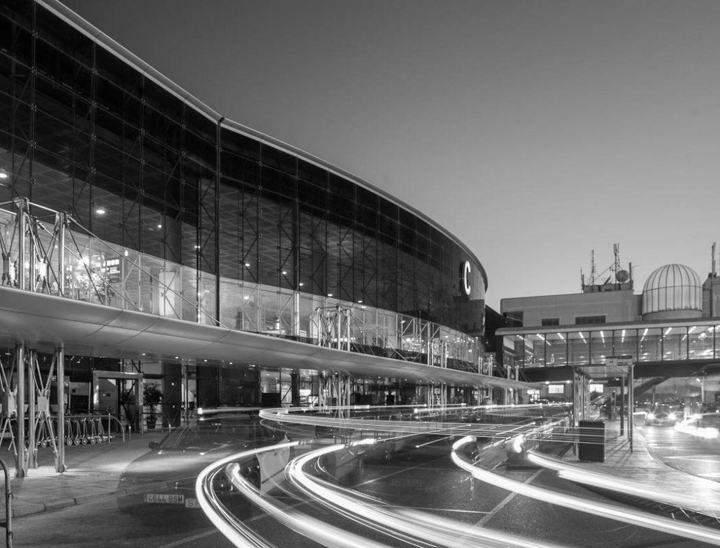 Fotografía aeropuerto Barcelona. Terminal C