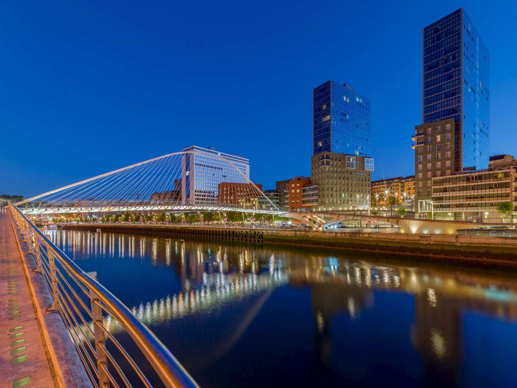 Fotografía Bilbao y río Nervión