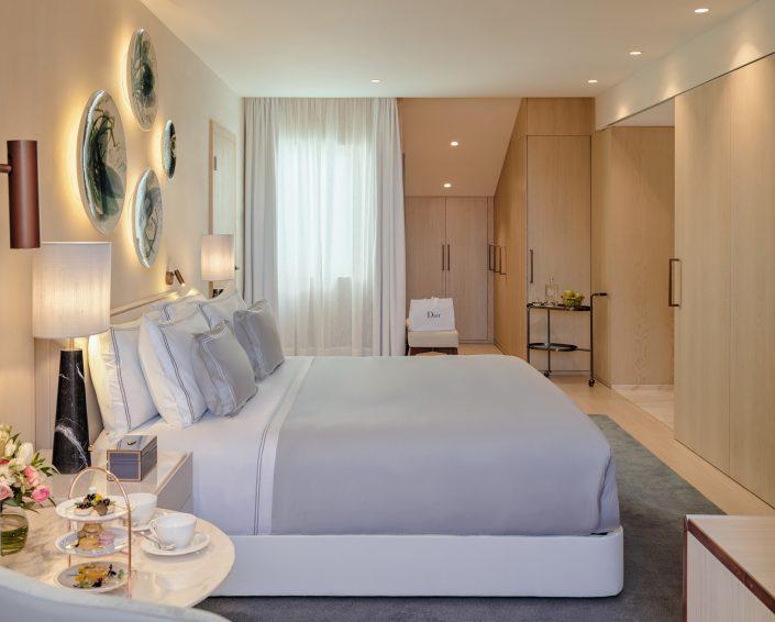 fotografía The One Palacio da Anunciada. Dormitorio y vestidor. Tower Suite