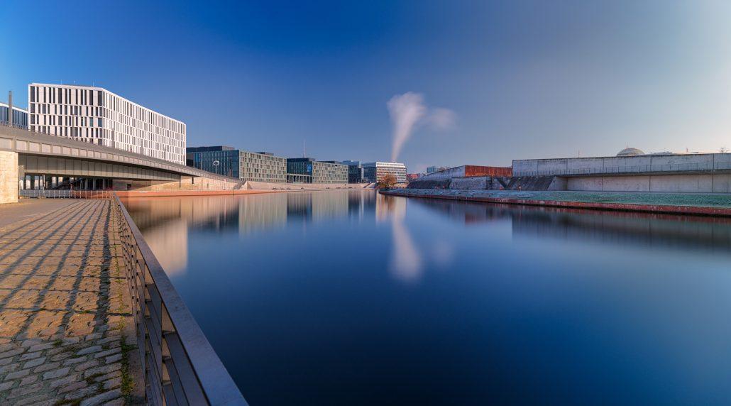 Fotografía del río Havel a su paso por Berlin