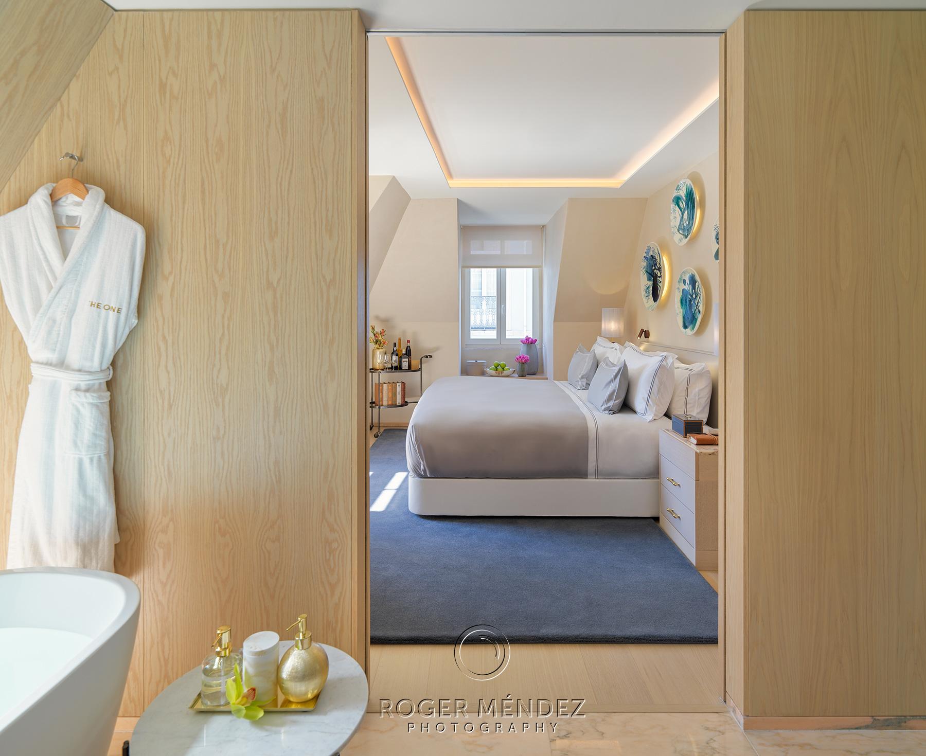 Vista habitación Garden Suite