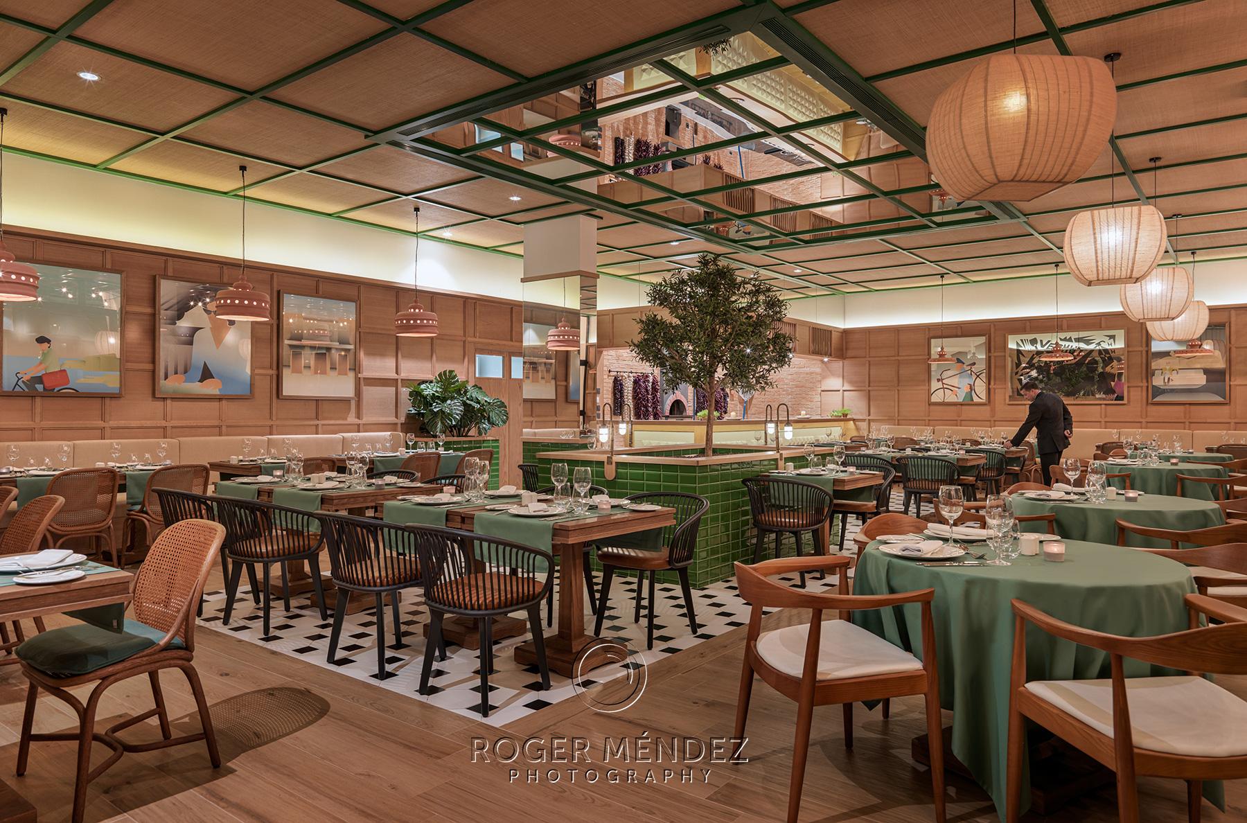 Vista general restaurante Stromboli