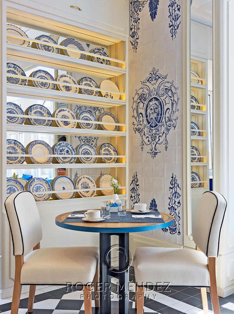 H10 Duque de Loulé Restaurante principal detalle