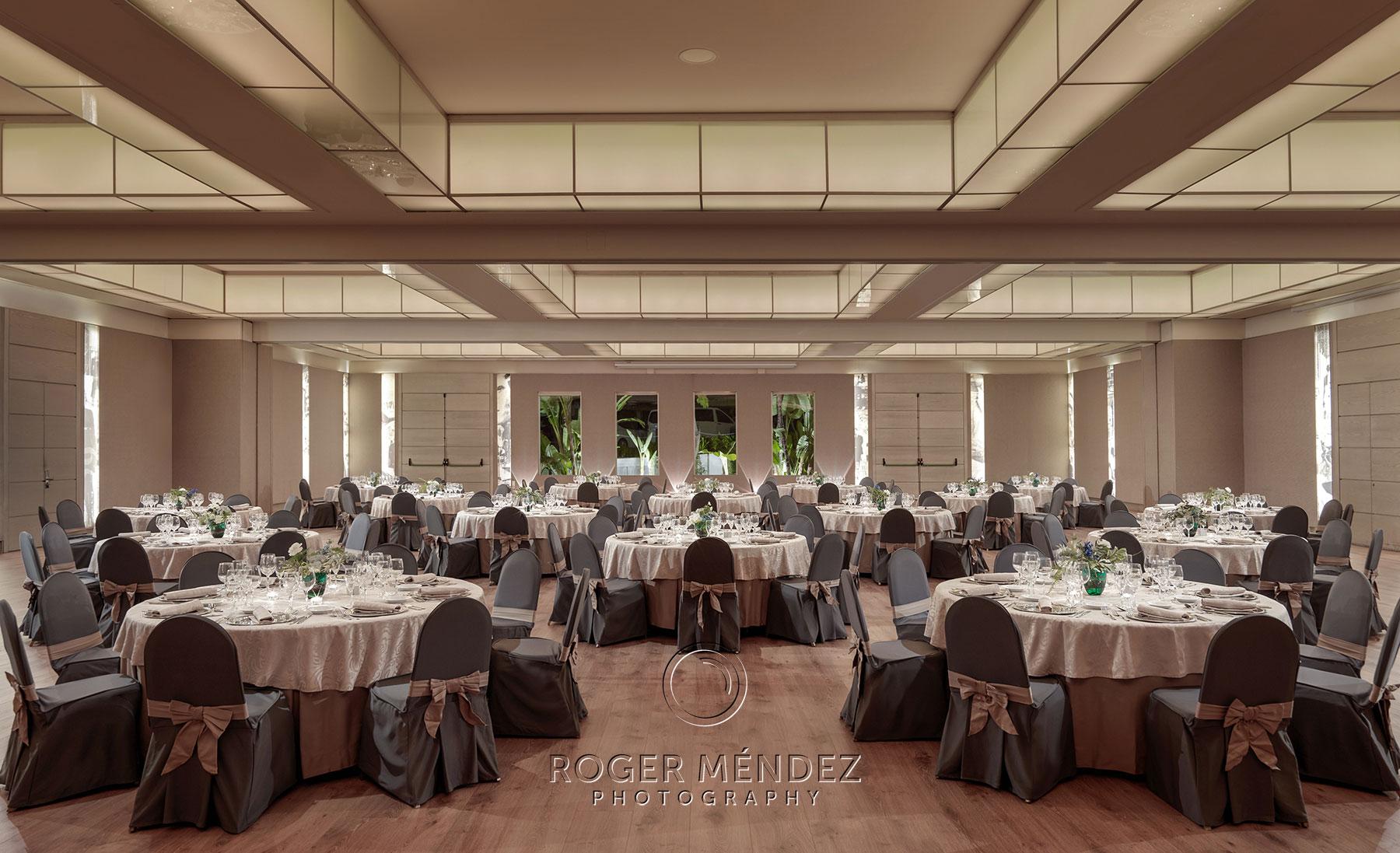 Sala Castilla montaje banquete