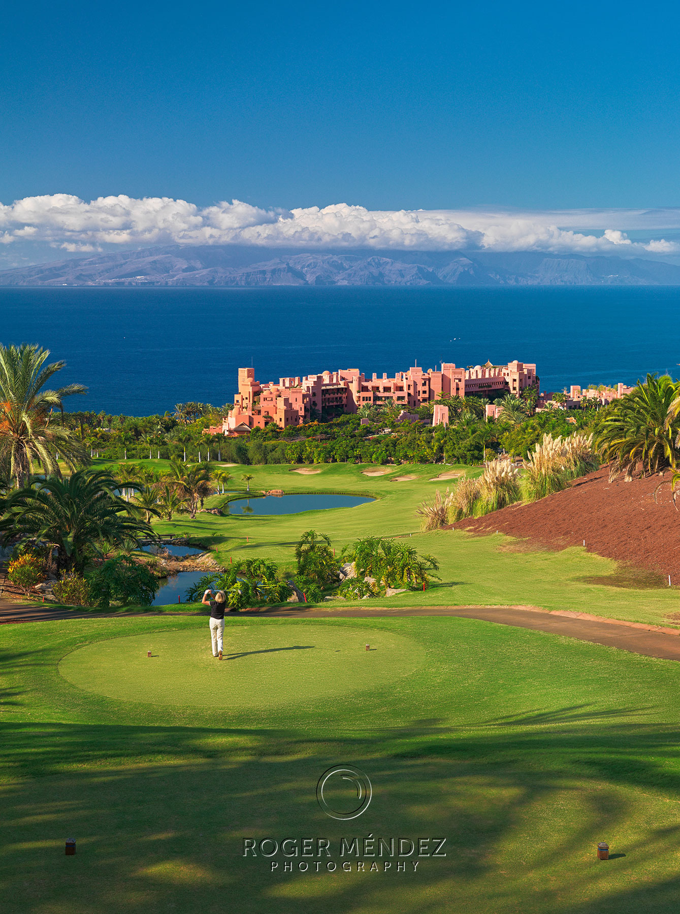 Abama Golf vistas mar