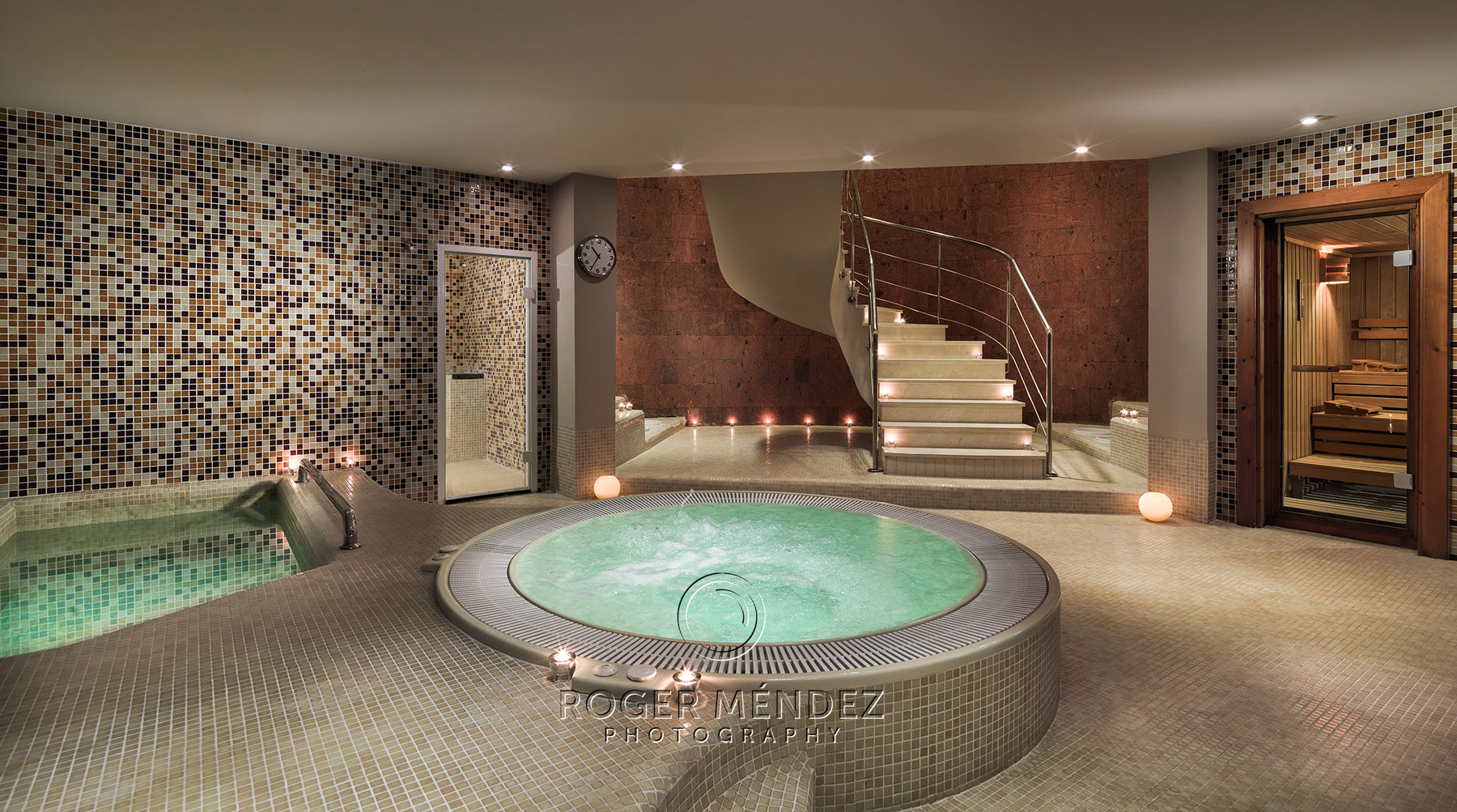 Hotel Las Madrigueras Golf & Spa, circuito de aguas