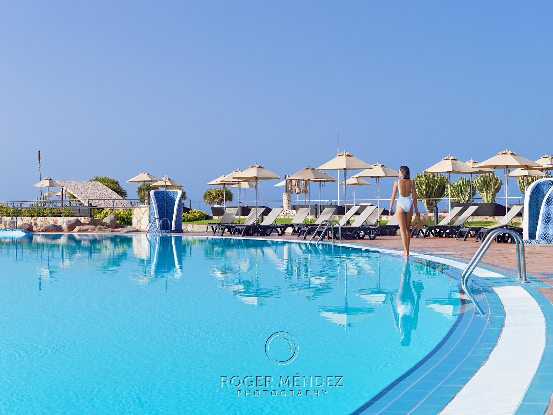 Piscina principal de día del hotel H10 Playa Meloneras Palace