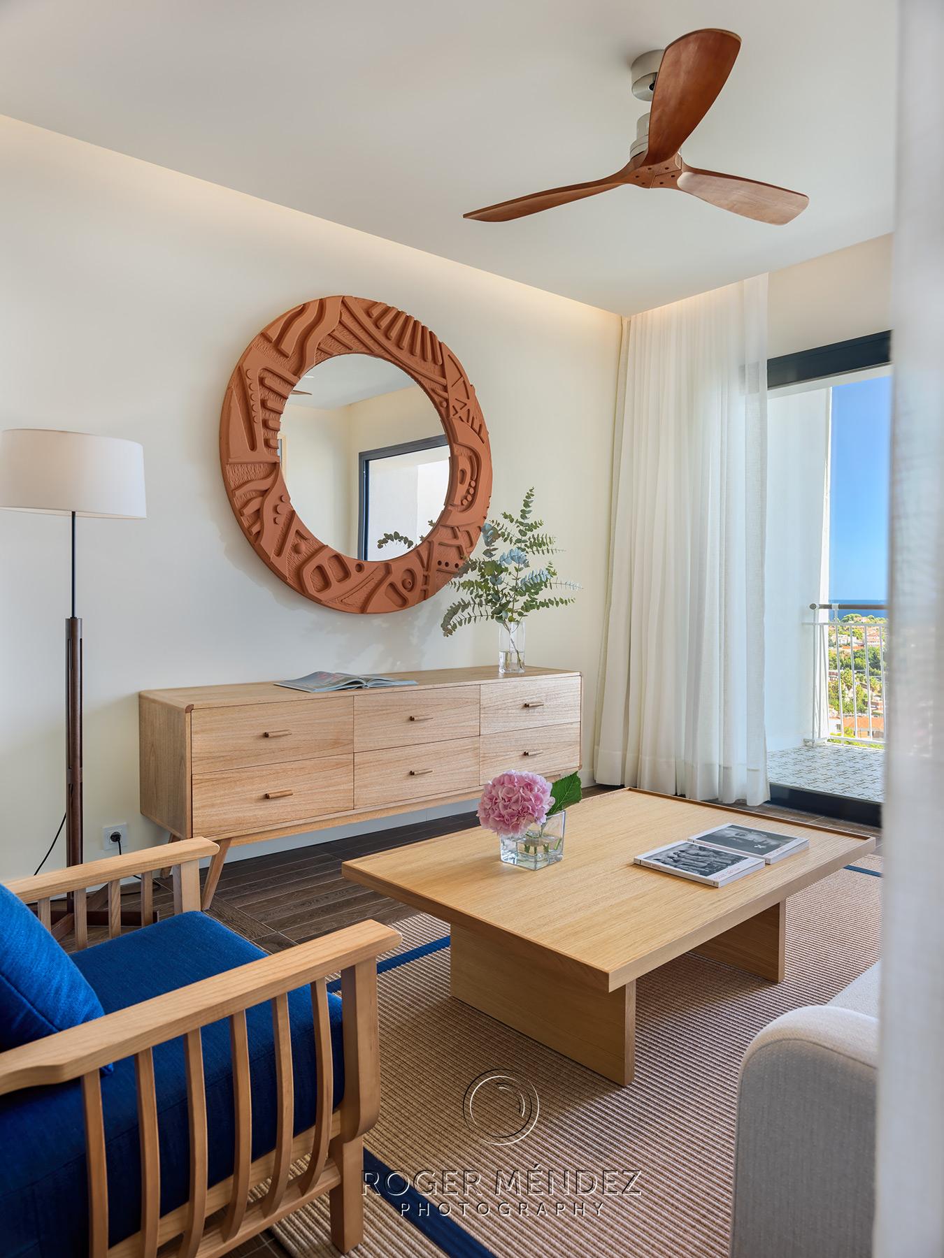 Detalle salón Junior suite