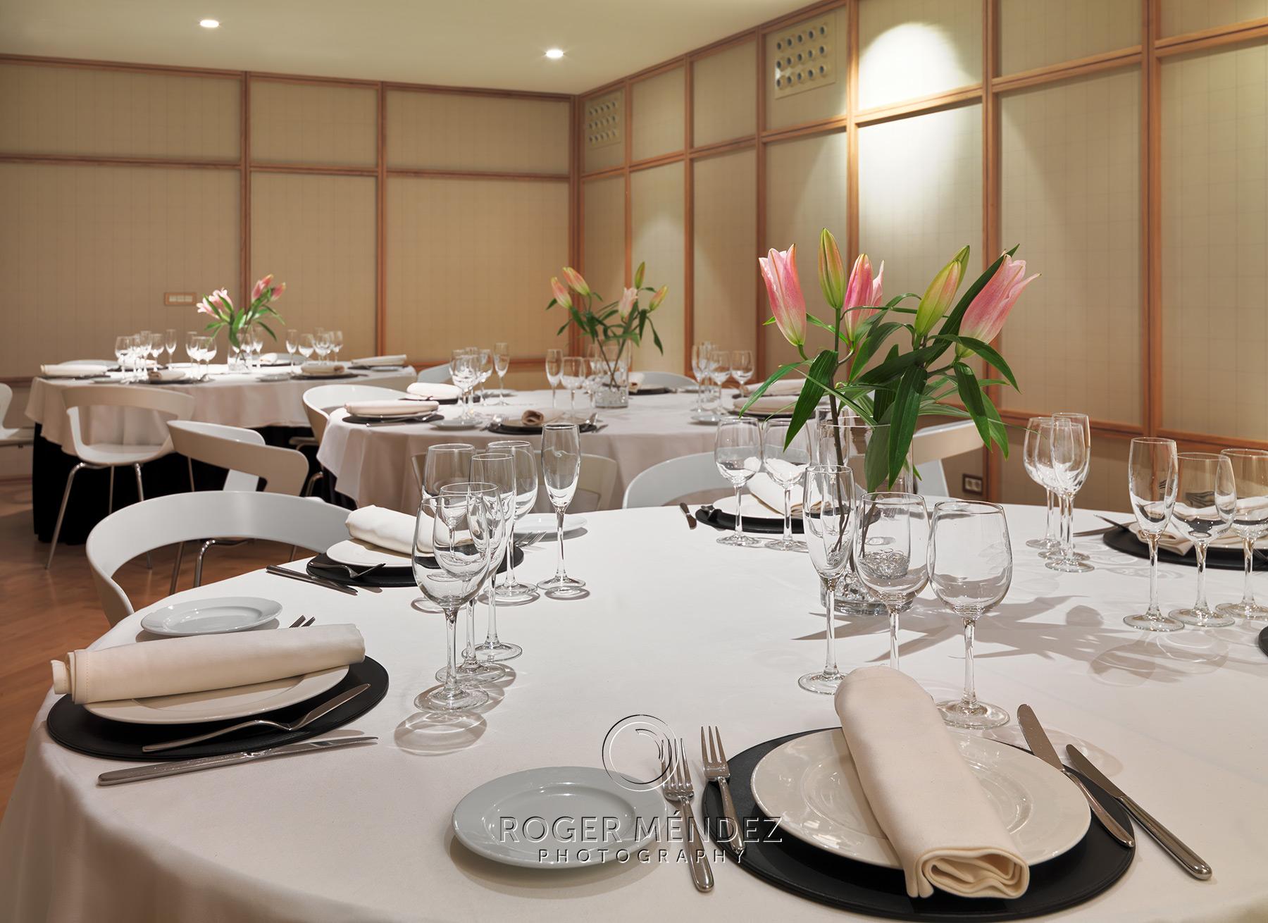 Sala Teixeira. Montaje banquete