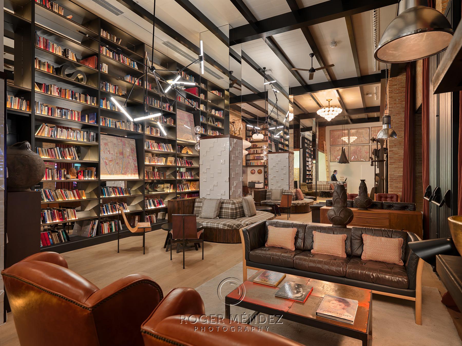 Lobby recepción del hotel H10 Tribeca