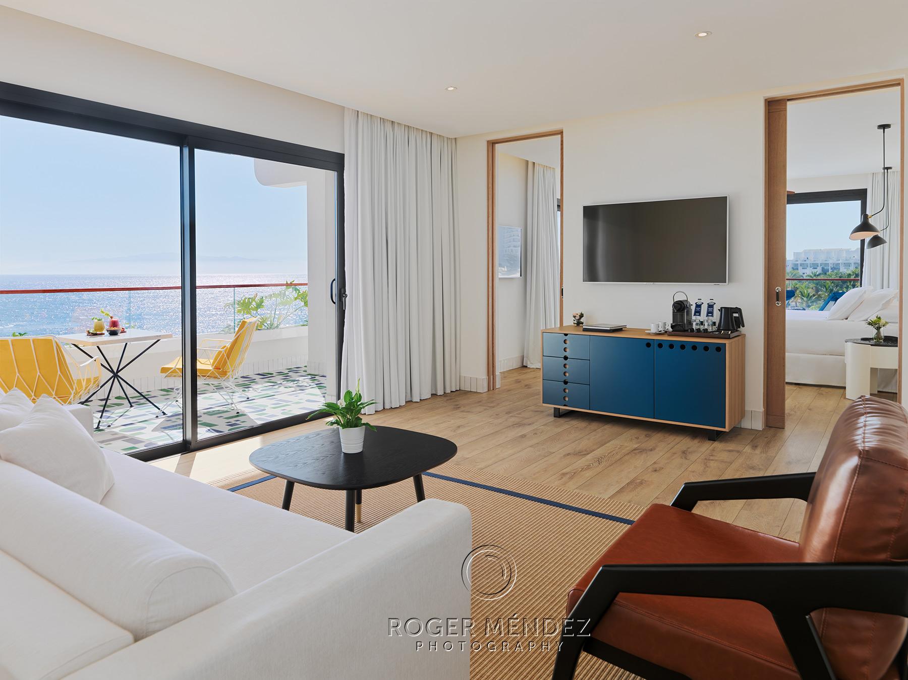 Vista general suite privilege. H10 Atlantic Sunset