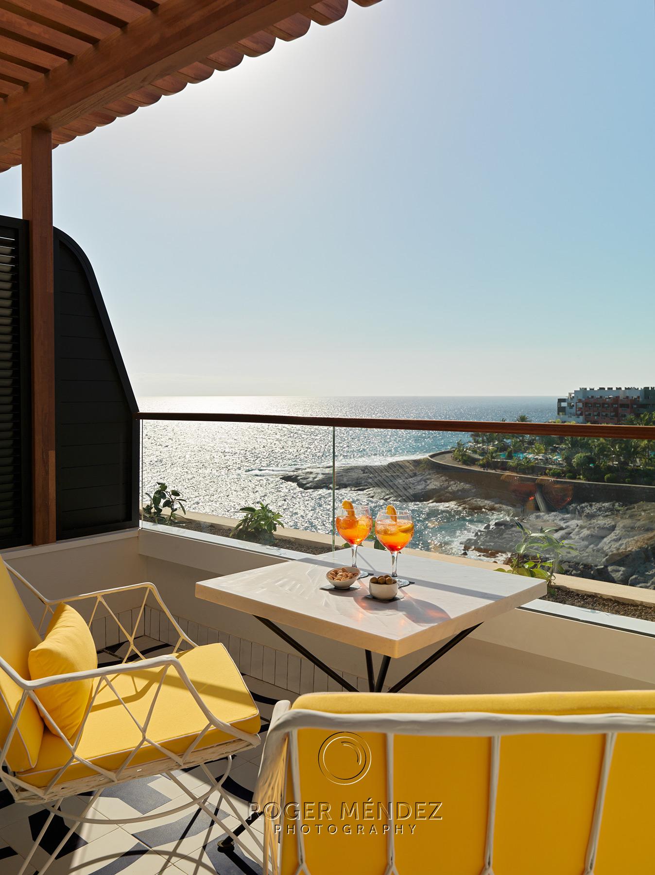 Terraza suite privilege. H10 Atlantic Sunset