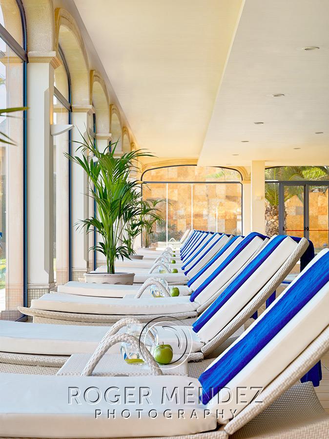 Toma detalle Spa. Gran Hotel Bahia Real