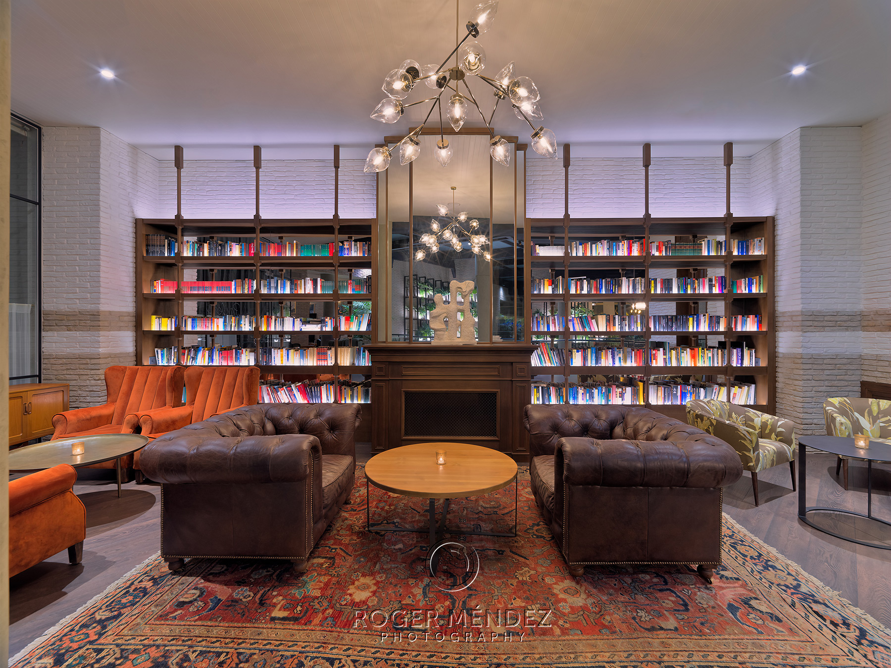 Rincón librería nocturna