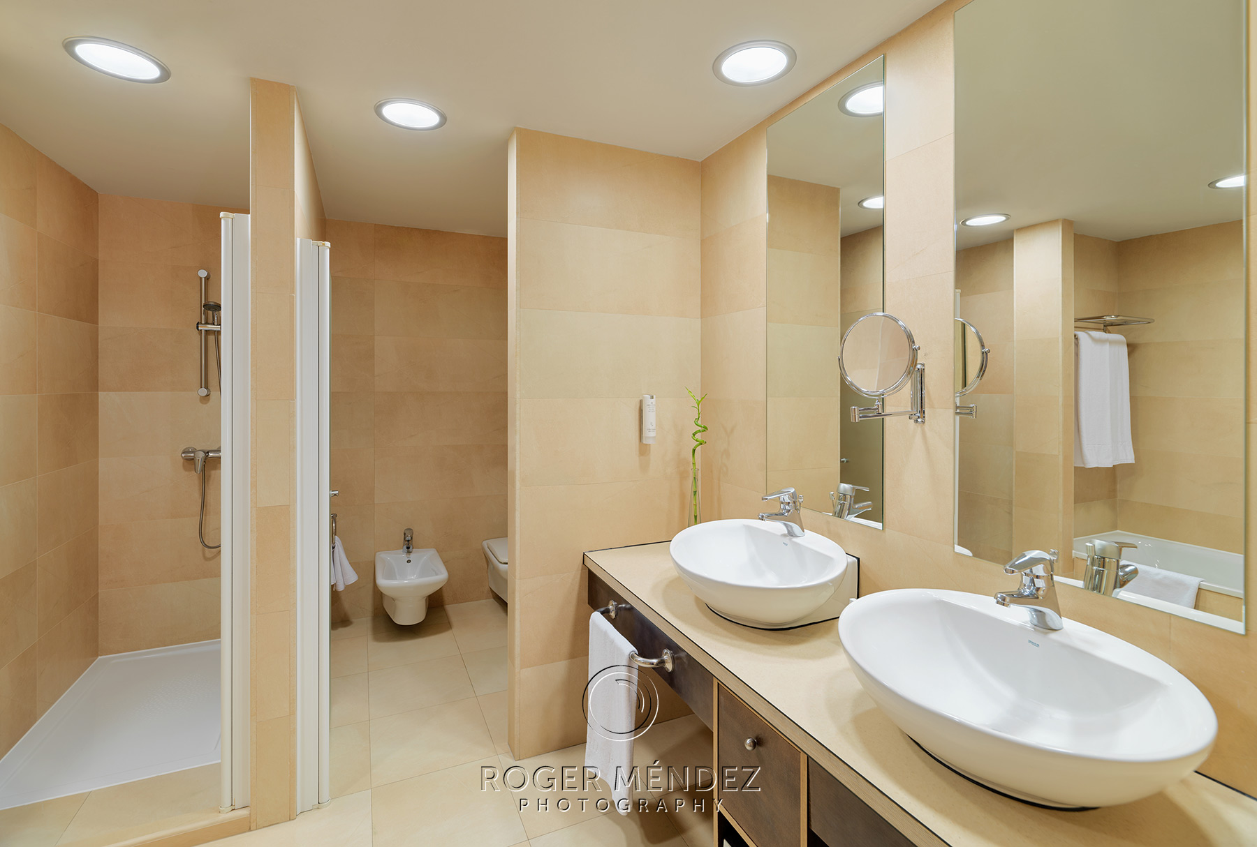 Baño suite superior