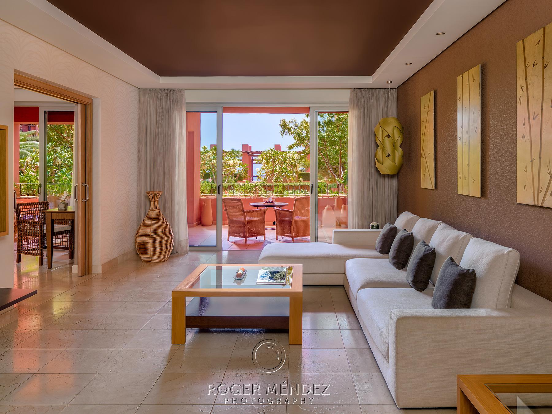 Suite Vista salón