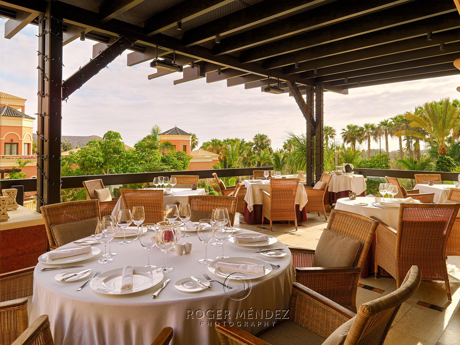 Terraza restaurante Bogey