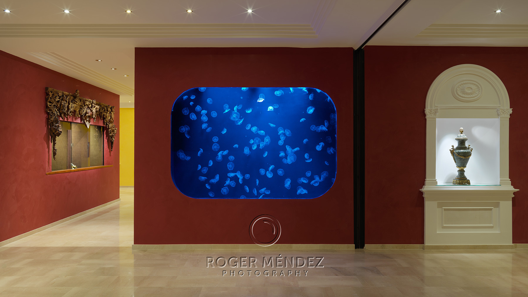 Lobby y Kreisel con medusas