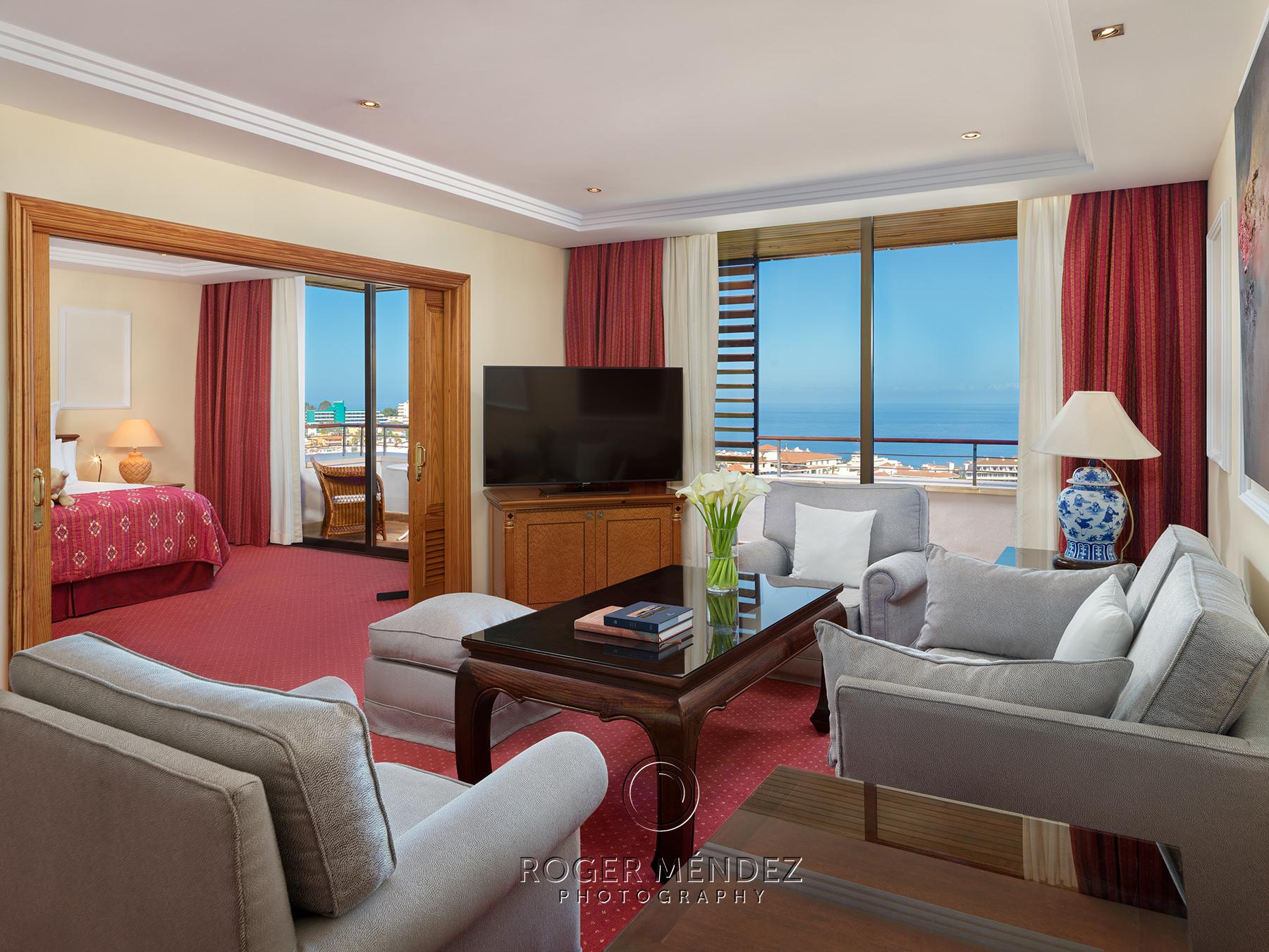 Salón habitación Senator vista mar