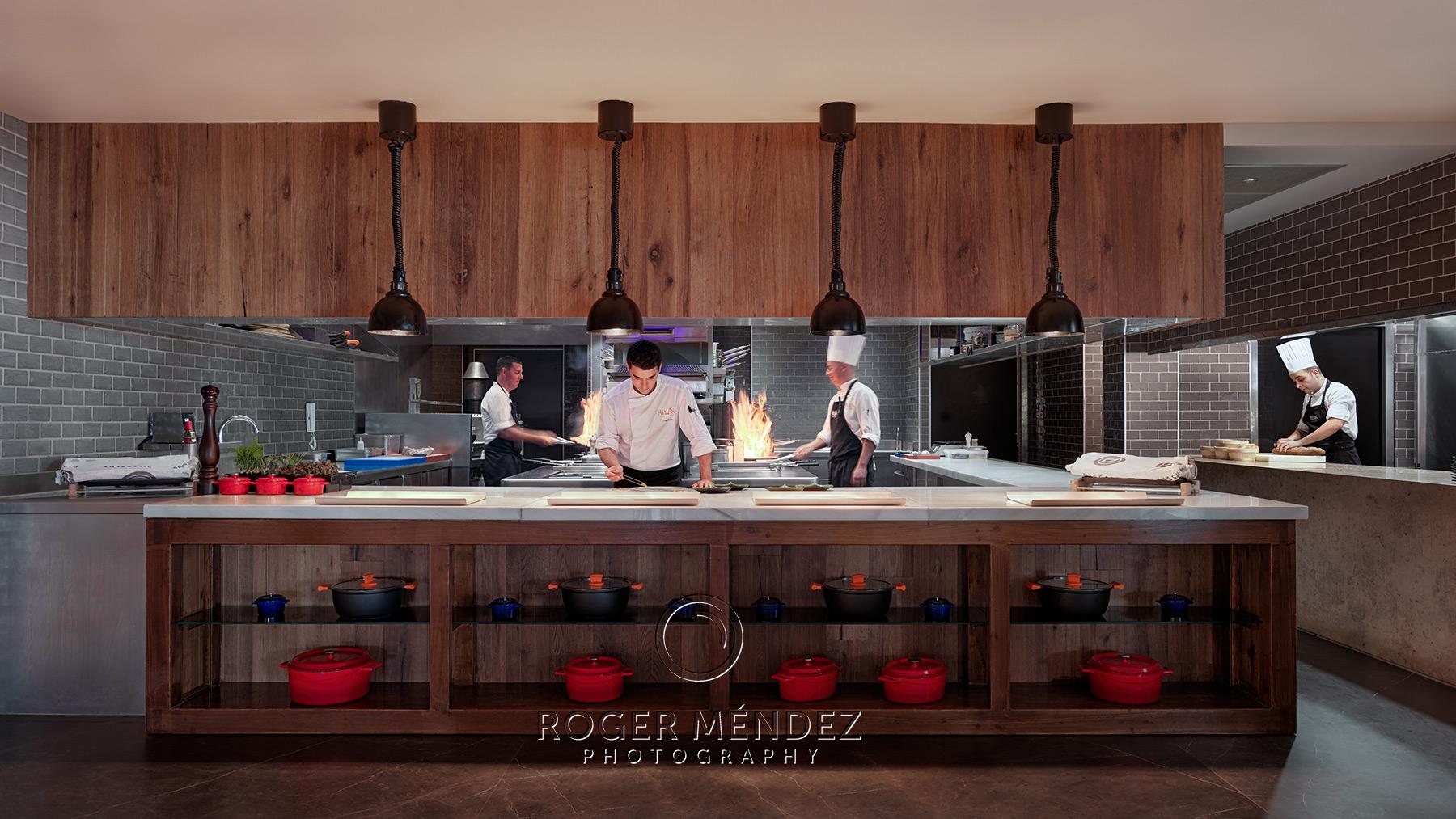 Show cooking Restaurante Melvin