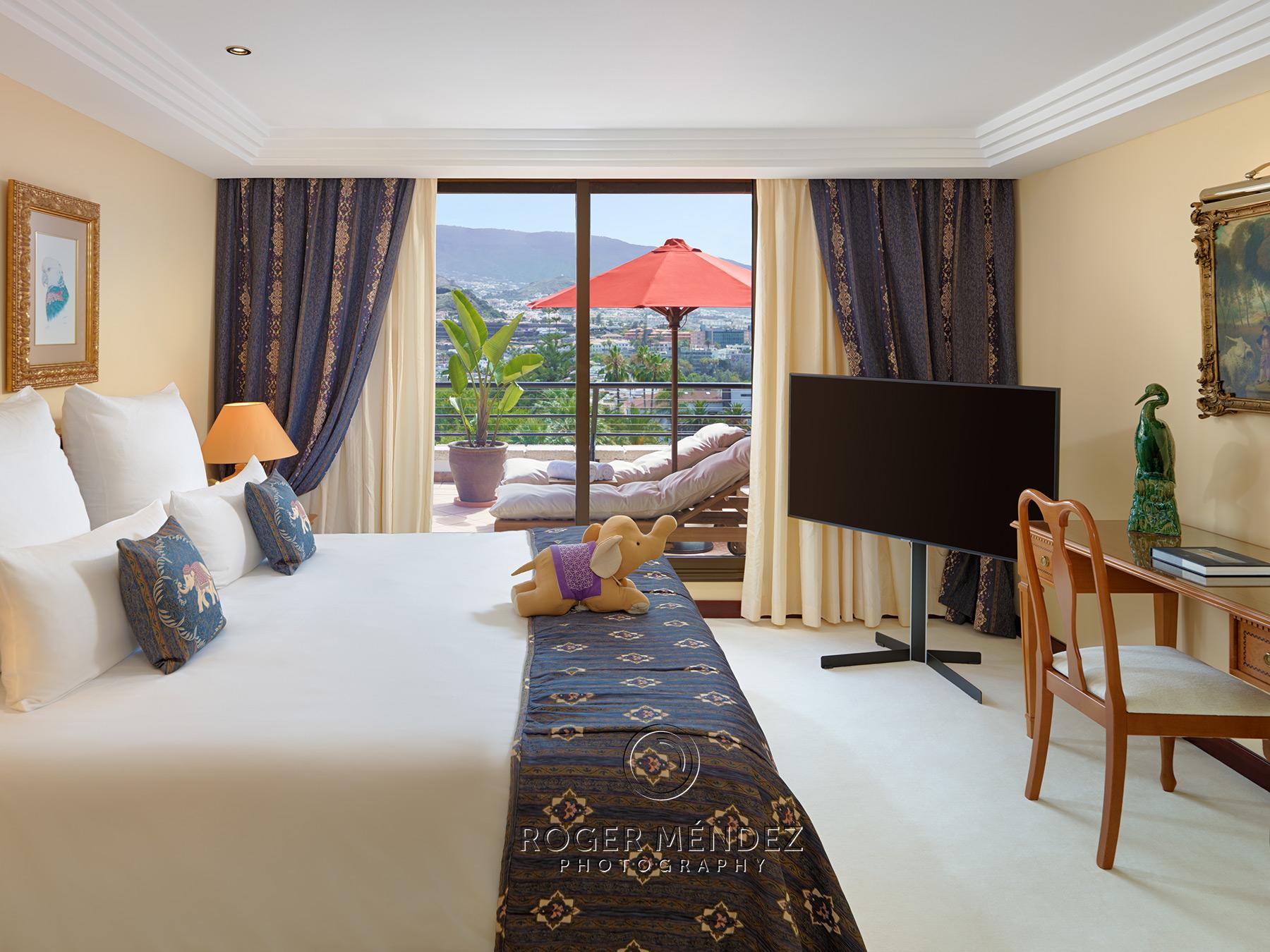 Dormitorio suite Botánico hotel